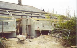 Annexe takes shape