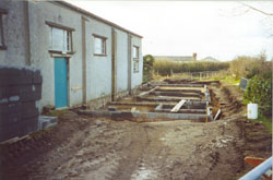 Annexe footings